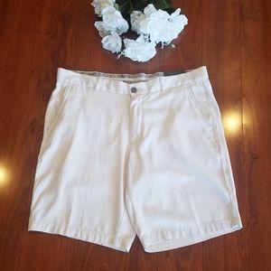 Tasso Elba Off White Dress Shorts Size 36*